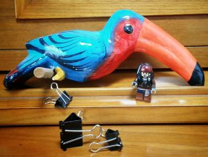 Because Nothing Says Pirate Like a Toucan